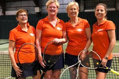 Dames FTO tennis promoveren naar hoofdklasse!