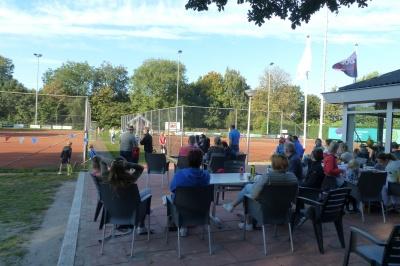 Volle banen bij tennisvereniging Zwartsluis